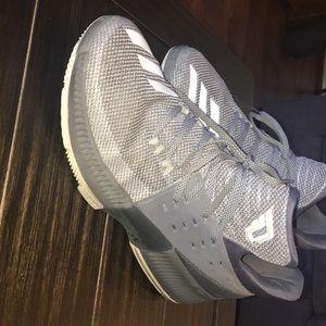 Damian Lilard 3s grey white size 11.5